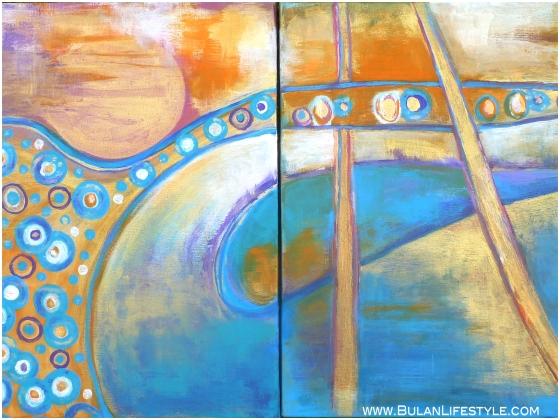 wanderlust. Acrylic on canvas