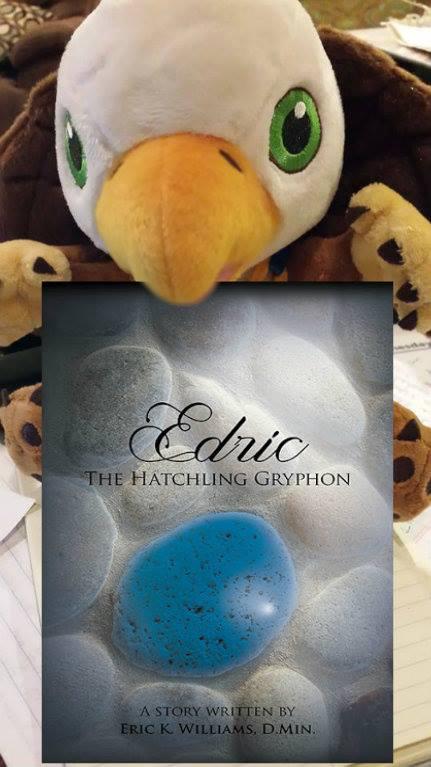 edric with book