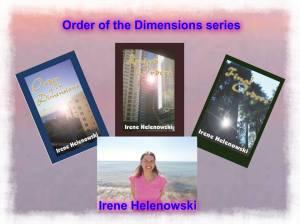 Irene and 3 books