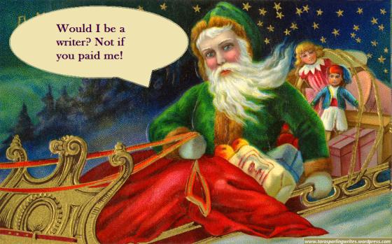 Santa Be a Writer