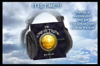 orb of truth in clouds
