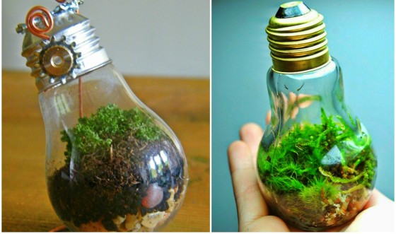 Ideas For Recycling Old Light Bulbs 1