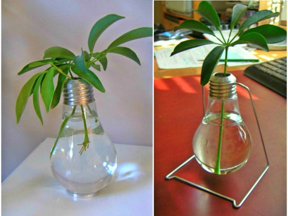 Ideas For Recycling Old Light Bulbs 111