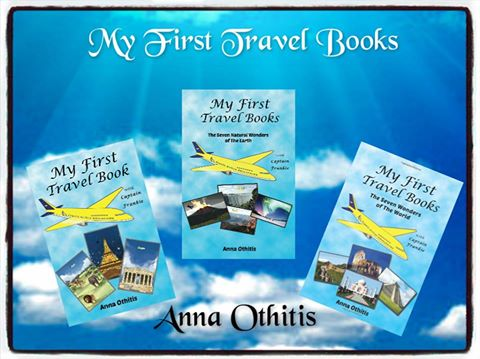my first travel books in sky