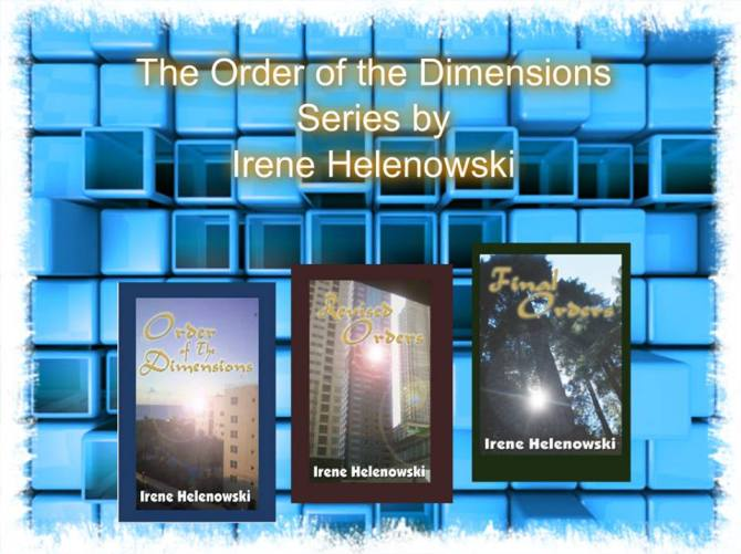 order of the dimensions series blue