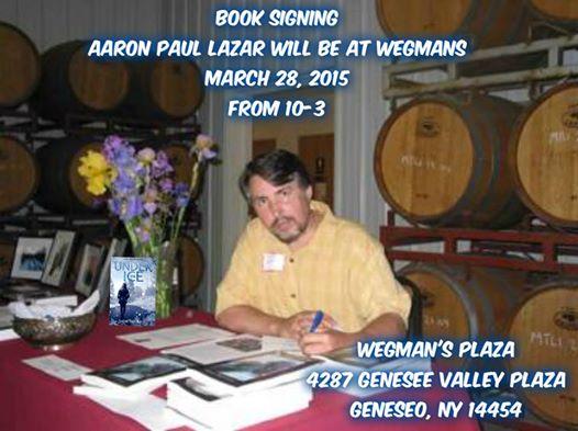 aaron at book signing 3