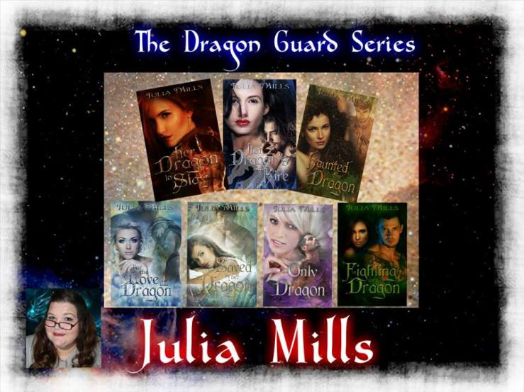 julia mills with seven books