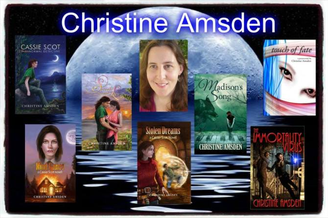 christine and all books