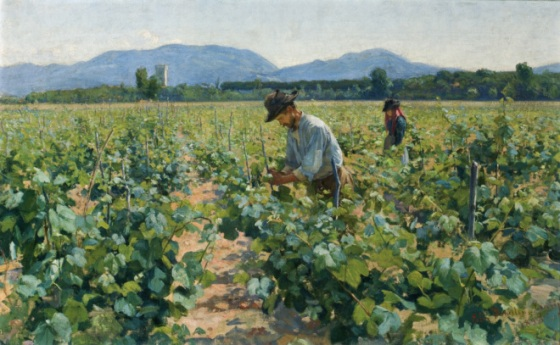 Elin_Danielson-Gambogi_-_Viinitarhassa_II_(1898)