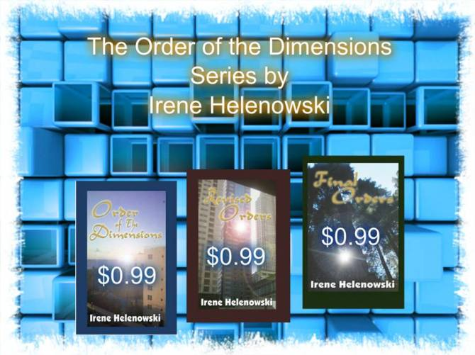 order of the dimensions series for 99c each