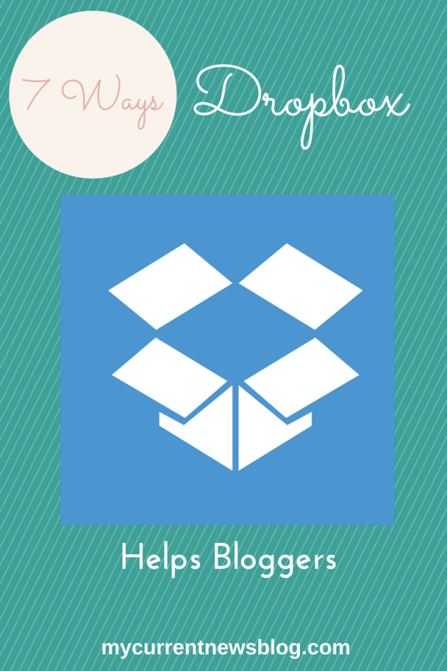 #Dropbox helps #bloggers.