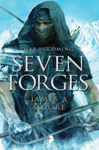 Cover of Seven Forges by James A. Moore