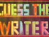 GUESS THE WRITER Infographic…