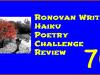 RonovanWrites 70th #Weekly #Haiku #Poetry ChallengeReview
