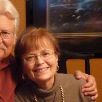 Victoria Slotto and half her husband