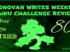 RonovanWrites 80th #Weekly #Haiku #PoetryReview