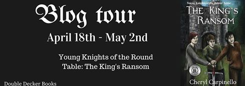cheryl blog tour young knights