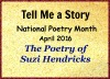 The Poetry of Suzi Hendricks on Tell Me a Story