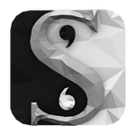 low_poly_scrivener_icon_by_benwurth-d71zc46