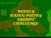 RonovanWrites #Weekly #Haiku #Poetry Prompt #Challenge #96 Lightning&Rain