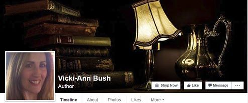 vicki fb author page banner
