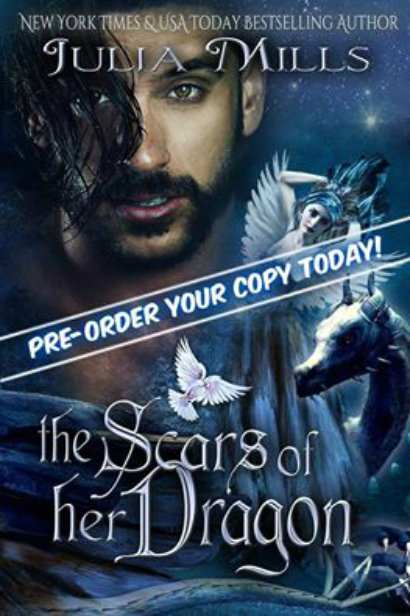 julia cover for pre order scars of her dragon