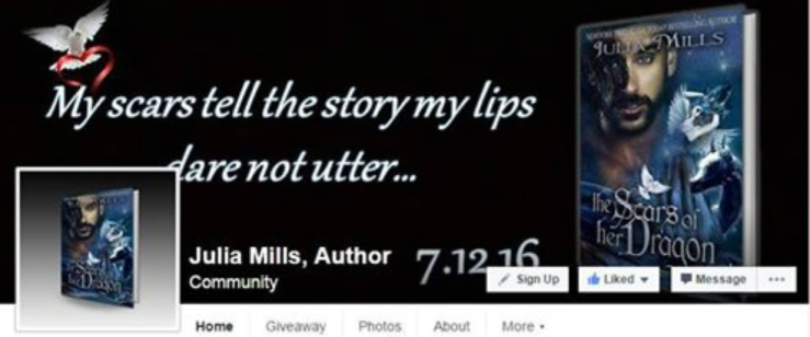 julia banner fb author page