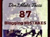 87 blogging mistakes you should absolutely nevermake…