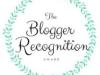 The Blogger Recognition Award for Writer's TreasureChest