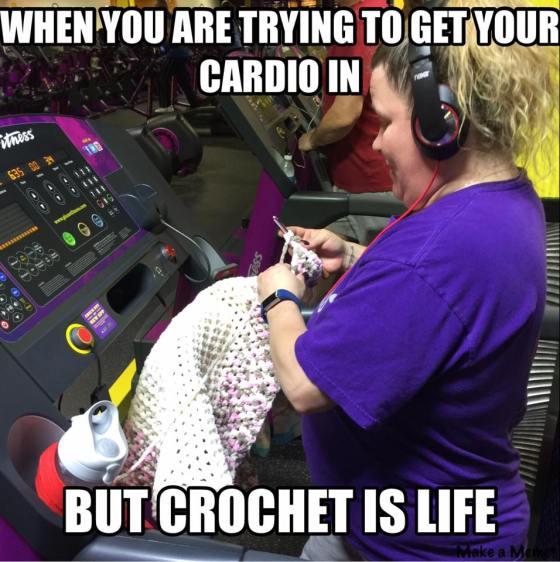 slob, humor, crochet meme