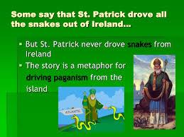 slob, humor, St Patrick