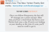 The Best Kind of Bot: The New Yorker's PoetryBot