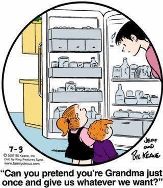 slob, humor, Grandma meme