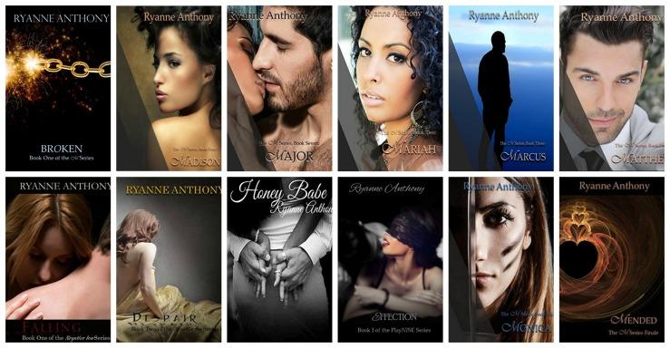 Ryanne's books