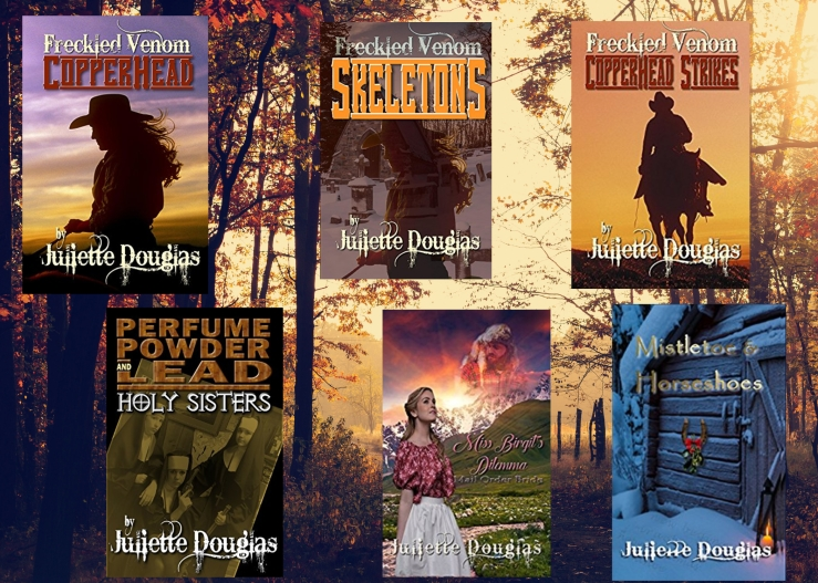 Juliette Douglas books.jpg