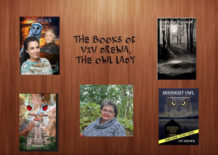 Viv with books