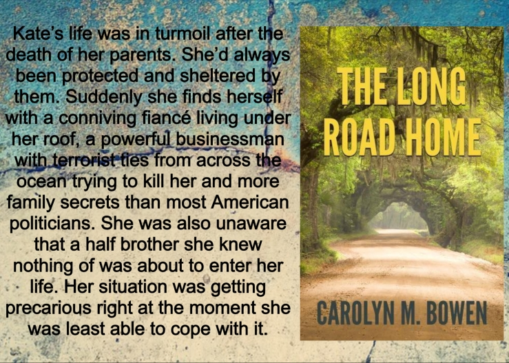 Carolyn long road home with blurb