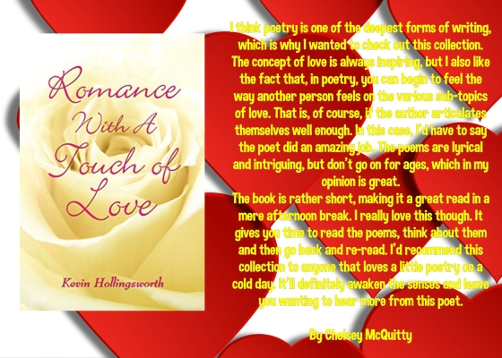 Kevin romance with a touch of love review.jpg