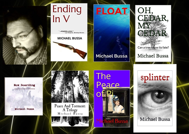 Michael and his books