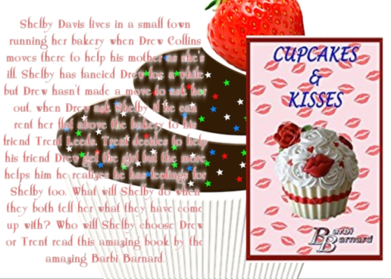 Barbi cupcakes and kisses with review.jpg