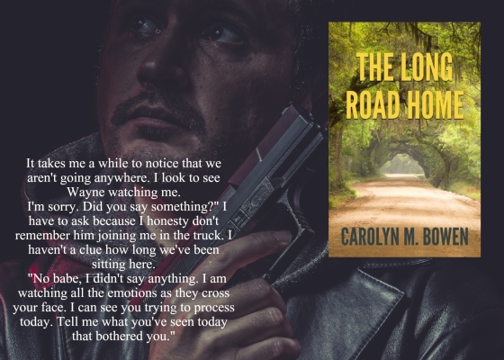 Carolyn long road home with quote