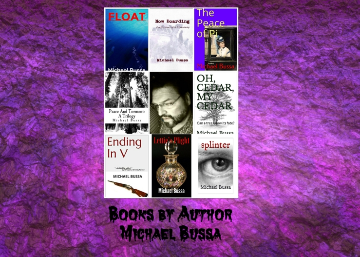 Mike books collage