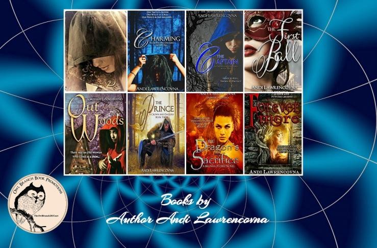 Andi 7 books collage