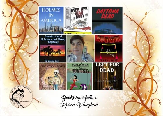 Karen 8 book collage