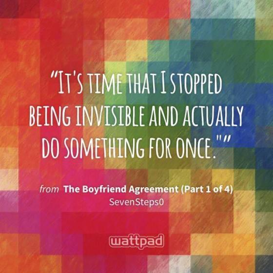 Seven the boyfriend agreement 9