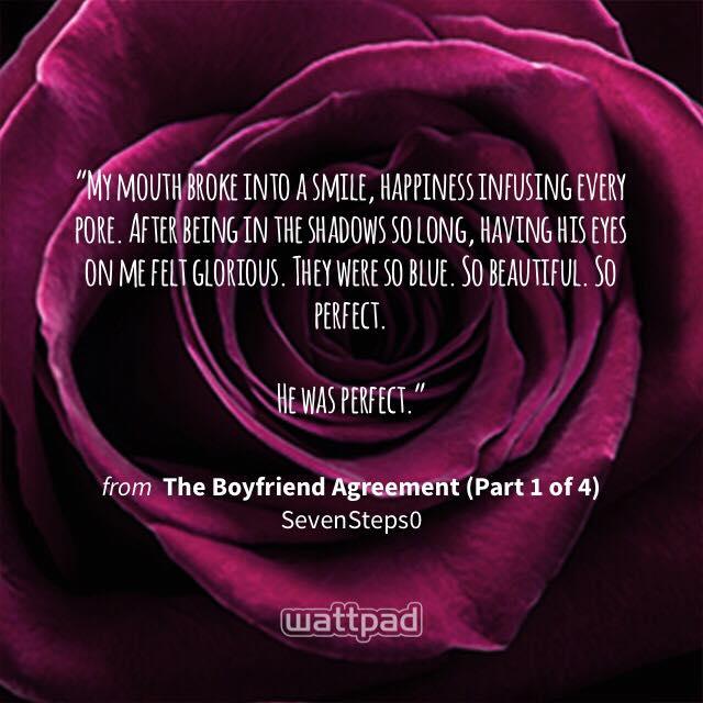 Seven the boyfriend agreement 7