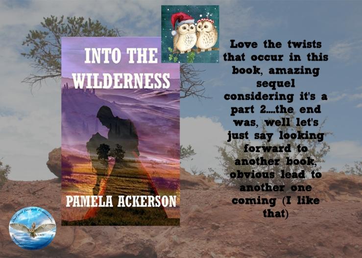 Pam into the wilderness Christmas.jpg