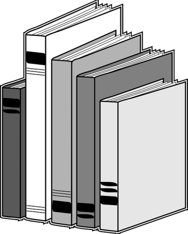 books-drawing