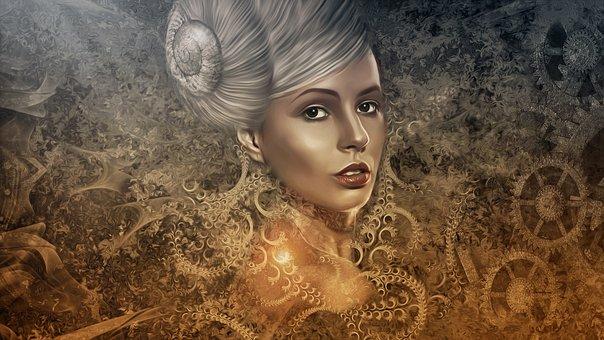 woman, gothic