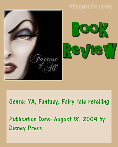 Book Review: Fairest of All: A Tale of the Wicked Queen by Serena Valentino | YA | Fairy tale retelling | fantasy | RachelPoli.com